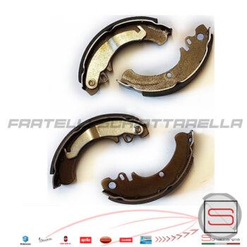 Kit Serie Ganasce Freno Posteriore Piaggio Ape Tm 50 Eq 154998 GF0174 270506 2705665 4141315 414131 270507 2705075 FSB886 1A-253n