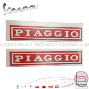 AD850 Coppia Stencil Adesivo Sella Piaggio Vespa Et3 Special
