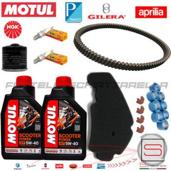 Kit10-Kit-Tagliando-Motul-Filtro-82960R-829258-Cinghia-Piaggio