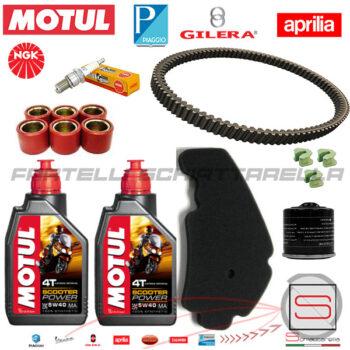 Kit13 Kit Tagliando Motul Filtro 82635R 829258 849480 Piaggio