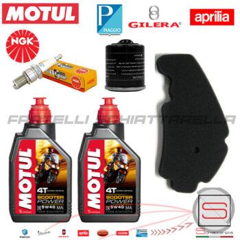 Kit15 Kit Tagliando Motul Filtro 82635R 829258 Piaggio