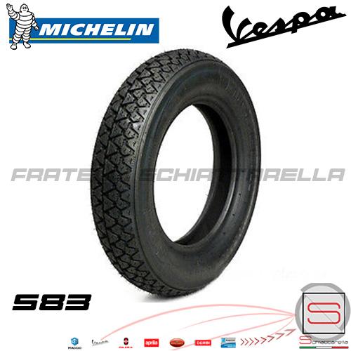Copertone Pneumatico Gomma Michelin 3.50-10 S83 59J Vespa Rally Ts Gl Px 057203