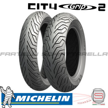 Coppia Copertoni Pneumatici Gomme Michelin 11070-16 13070-16 Sh Carnaby 300 701614 877073 241569 930281 City Grip2 123