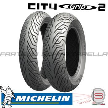 Coppia Copertoni Pneumatici Gomme Michelin 11070-16 13070-16 Sh Carnaby 300701614877073 241569 930281 City Grip2 123