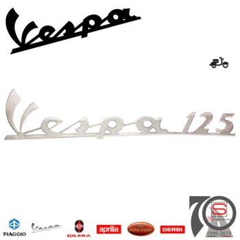 142720250 Targhetta Emblema Piaggio Vespa 125 Primavera Nuova Super 125