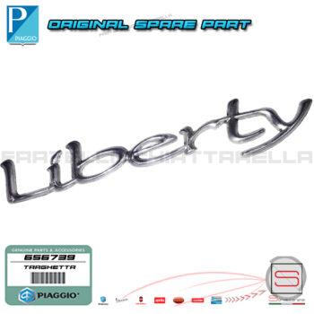 Targhetta Adesiva Decalco Laterale Originale Piaggio Liberty Dal 2004 656739 574479 622035
