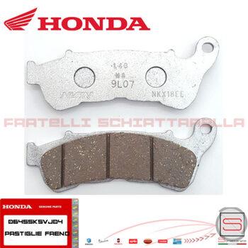 06455KSVJ04 Coppia Pastiglie Anteriori Originale Honda Sh 300
