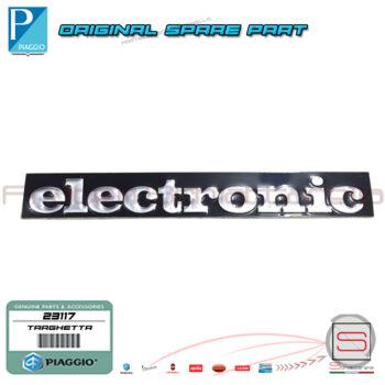 23117-198187-Targhetta-Eletronic-Piaggio-Si