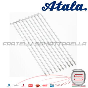 Kit 10 Raggi Raggio 2,5x155 Ruota Ciclomotore Atala Cesare Rizzato