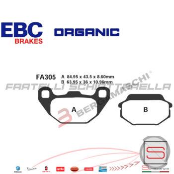 Pastiglie Freno Kymco Agility People Super 9 Sym Joyride HD Sk GT FDB2096 FA305 R1630500 FDB2096 FA305 R1230500 R1730500 R2330500