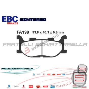 Pastiglie Freno Yamaha Majesty T Max T-Max Italjet Jupiter Mbk YP FDB2003 FA199R1719900 FDB2003 FA199 R1619900 R1219900 R2319900 6561280