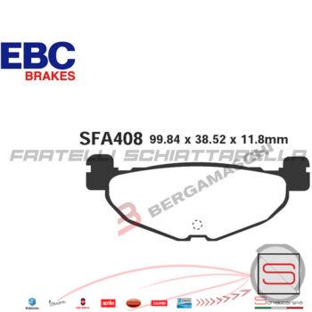 Pastiglie Freno Yamaha Majesty 400 T-Max T Max 500 Mbk Skyliner FDB2200 FA408 R2340800 R1240800 FDB2200 FA4080 R1640800 R1740800FDB2200 FA408