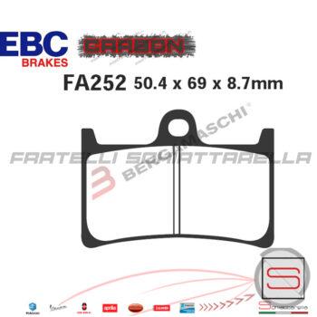 Pastiglie Freno Anteriore Yamaha Tmax T-Max T Max 530 500 R6 R1 FDB605 FA252 R1625200 FDB605 FA252 R1225200 R1725200 R2325200