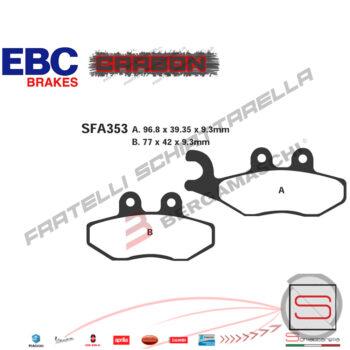 Pastiglie Freno FDB2142 FA353 Piaggio Beverly X8 X9 Gilera Gp Runner Eq 651253 647078 497116 650983 FDB2142 668021177HF497072651253668021225100550R1235300R1635300R1735300R2335300
