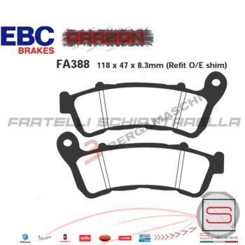 Pastiglie Freno Honda SH Integra Forza Sw-T Suzuki Burgman Sixteen FDB2196 FA388 R1738800 FDB2196 FA388 R1238800 R1638800 R2338800 06455KSVJ04 225102540
