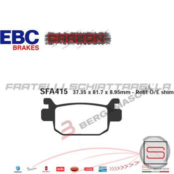 Pastiglie Freno Posteriore Honda SH ie 125 150 300 FDB2212 FA415 R1741500 FDB2212 FA415 R1241500 R1641500R234150006435KSVJ03 225102560193MS