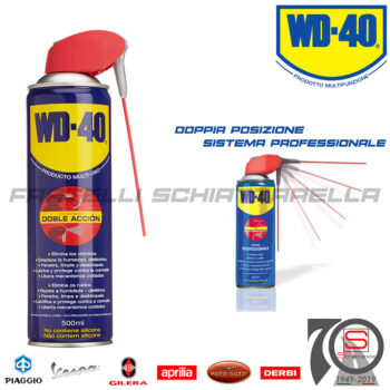 Spray Lubrificante Multiuso Sbloccante Antiruggine Libera Filetti WD40 WD 40