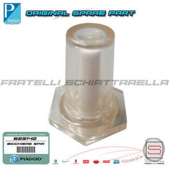 Bicchiere Spia Serbatoio Olio Originale Piaggio Vespa PX 125 150 200 T5 623140 155526 102587