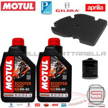 Kit27 Kit Tagliando Motul Filtro 82635R 831997 Piaggio