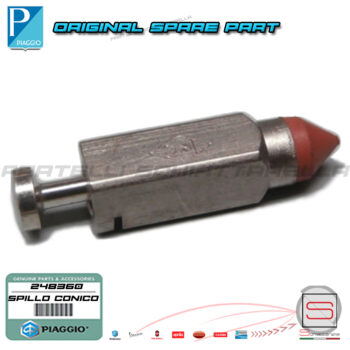 Spillo Conico Carburatore Originale Piaggio Cosa 1-2 248360