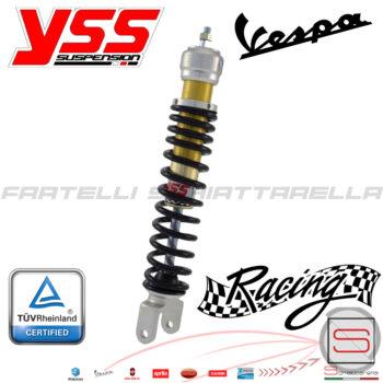 Ammortizzatore Posteriore YSS X-PRO Regolabile Piaggio Vespa PX PXE 125 150 200 204590119 58571R 56188R 204560192 Racing Oleodinamico OE302-340T-01AL-X