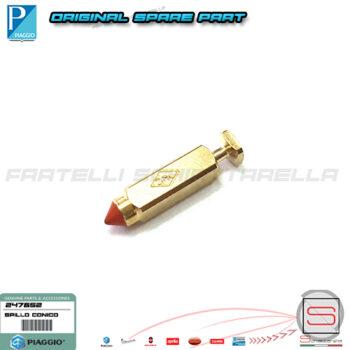247652 Spillo Spilla Spinetta Chiusura Conico Conica Carburatore Originale Piaggio Vespa PX