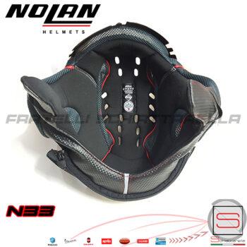 interno Casco Nolan N33 Evo Con Zippo Zip