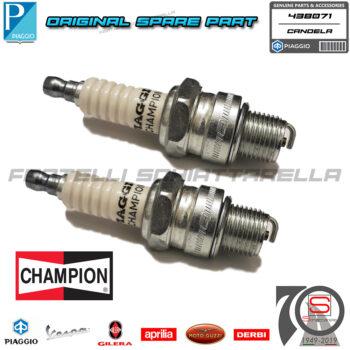 2 Candela Accensione Champion P86M Passo Corto Originale Vespa Special Px 438071 P82M 438070 487042 AC R42CF Champion OE086T10 QL7J5 QL82C QL86 QL86C RL7J RL82 RL85 RL86 RL86C Denso W20FSR W20FSRU Honda 9807656716 Kawasaki E920702117
