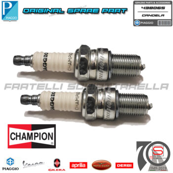 Candela Accensione Champion P2M Passo Lungo Originale Vespa Px 200 Cosa 2 438065 2350575 1377615 438005 482853 438076 AC 42XL S42XL Aprilia 847085 Brisk L14 L14C Champion N3 N3C OE068T10 PN5C Denso W24ES W24ESU W24ESU11 Enker FE80C Eyquem 1000L 1100L Honda 9807958810 980795881001 9807958840 9807958870 Kawasaki E92070037