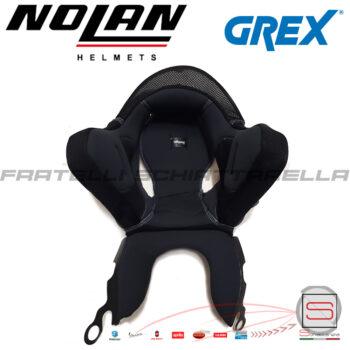 Imbottitura Interna Interno Casco Grex G4.1 G4.2 Pro Nolan N43 Air SPRIN00000554 SPRIN00000555 SPRIN00000556 SPRIN00000557