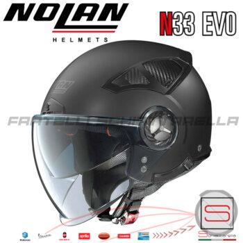 Casco-Nolan-N33-Evo-Classic-Nero-Opaco-4