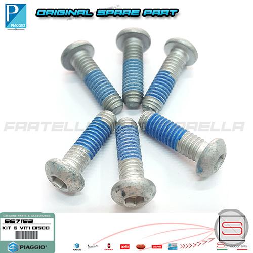 667152 Kit 6 Perni Disco Freno