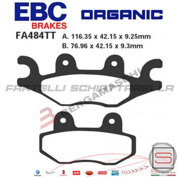 Pastiglie Freno TGB X-Motion 125 150 Eq SBS 210HF EBC SFA484 R1648400 SFA484 210HF R1748400