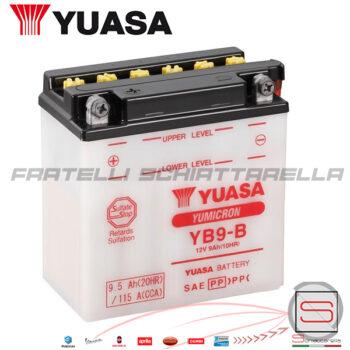 E01121 584810 Batteria Accumulatore YUASA YB9-B