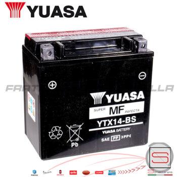 E01141 Batteria Accumulatore Yuasa YTX14-BS