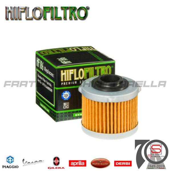 E17186 AP3HAA000309 Filtro Olio Aprilia Scarabeo Light