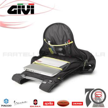 Borsa Zaino Portacasco Moto Espandibile Givi Easy T Antipioggia EA104B Zainetto Portaoggetti Da Viaggio