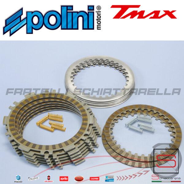 230_0020 Serie Dischi Frizione RACING + Molle Yamaha T-Max TMax 530