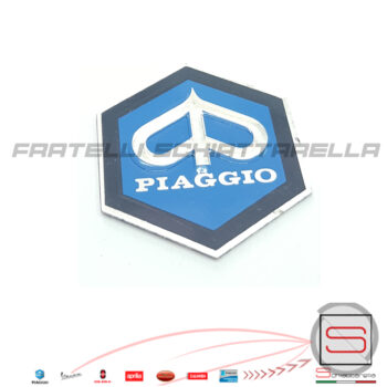 149876 5776 Scudetto Emblema Adesivo Esagono 31MM Piaggio Vespa 1