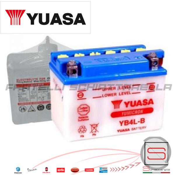 E01111 234390 E07018 Batteria Yuasa 4Ah Yb4l-b