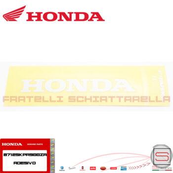 Adesivo Decalco Carena Scudo Anteriore Originale Honda Sh 125 150 87125KPR900ZA