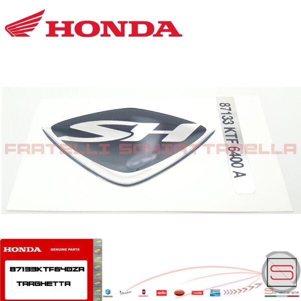 Adesivo Decalco Scudetto Scudo Griglia Anteriore Originale Honda SH 125 150 87133KTF640ZA