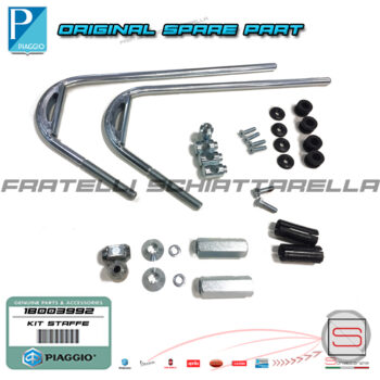 1B003992 Kit Staffe Attacchi Parabrezza Originale Piaggio Medley 1B003992