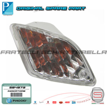 584973 Indicatore Freccia Posteriore Sinistra Original Piaggio Vespa Gts 250 300 584973 583619 638718