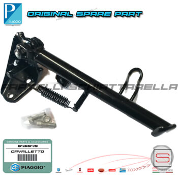 Cavalletto Laterale Completo Originale Piaggio Liberty 50 125 582581 646545 1C000606