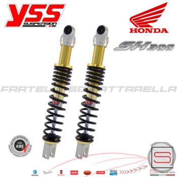 204590326 204590272 TE302-400T-04AL-X Coppia Ammortizzatore Posteriore Yss Honda Sh 300