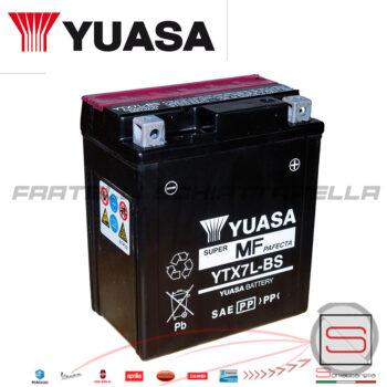 E01157 584662 Batteria Yuasa Ytx7l-bs