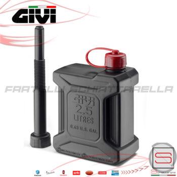 TAN01 Tanica Omologata Benzina 2,5Lt Givi