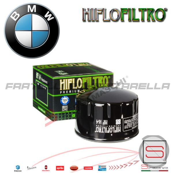 E1716400 HF164 Filtro Olio Hiflo Bmw R1200GS