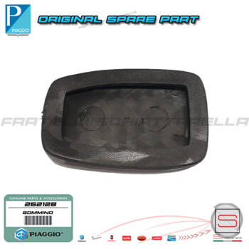 Gommino Protezione Copri Pedale Freno Frizione Originale Piaggio Porter Quargo Copripedale Gomma 3132187502000 3132187Z03000 262128 (4)
